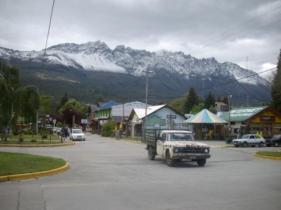 downtown El Bolsón, typical vehicle
